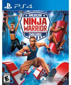 American Ninja Warrior, Gamemill, PlayStation 4, 856131008046