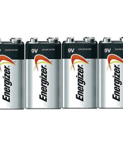 Energizer E522 Max 9 Volt Alkaline Battery – 4 Batteries + 30% Off!
