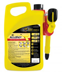 Black Flag Home Insect Control Plus Germ Killer, AccuShot, 1.33-gal