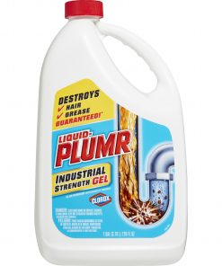 Liquid-Plumr Industrial Strength Gel Drain Cleaner, 128 oz