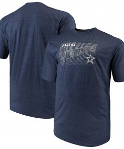 Dallas Cowboys Royal Domination Malt T-Shirt – Navy
