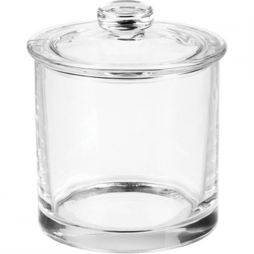 Better Homes & Gardens Glass Apothecary Vanity Jar, Small