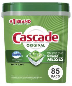 Cascade ActionPacs Dishwasher Detergent, Fresh Scent, 85 Ct