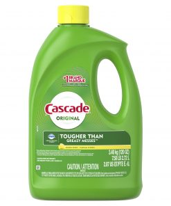 Cascade Gel Dishwasher Detergent, Lemon Scent, 120 Fl Oz