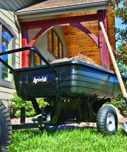 Agri-Fab, Inc. 350 lb. Convertible Poly Push/Tow Lawn and Garden Cart Model #45-03453