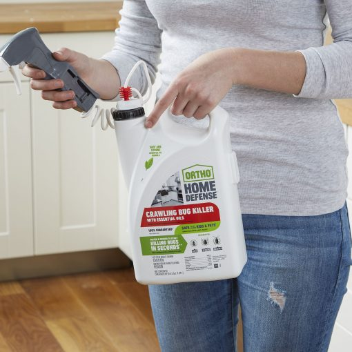Ortho Home Defense Crawling Bug Killer with Essential Oils, 0.5 gal.