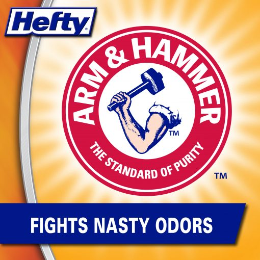 Hefty® Ultra Strong™ Tall Kitchen Trash Bags, 13 Gallon, 80 Bags (Lavender & Sweet Vanilla™ Scent)