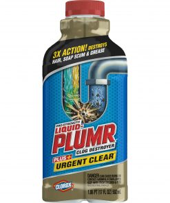 Liquid-Plumr Urgent Clear, our fastest clog remover, 17 Ounces