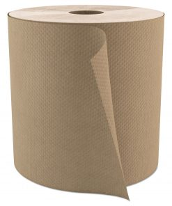 Select Roll Paper Towels, 1-Ply, 7.9″ x 800 ft, Natural, 6/Carton