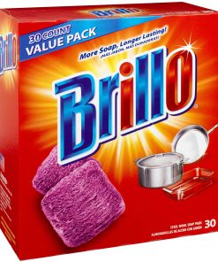Brillo Steel Wool Soap Pads, 30 Count