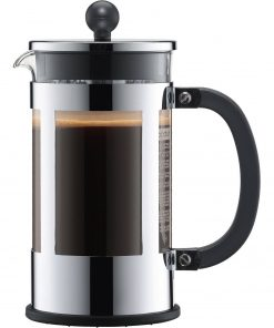 Bodum Kenya 8 Cup French Press Chrome Coffee Maker