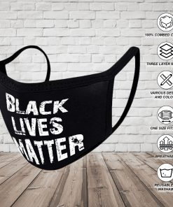 BLM Mask Black Lives Matter Face Mask Washable Face Mask Reusable Face Mask Washable Cloth Face Masks 100% Cotton Face Mask Breathable Mouth and Nose Mask Face Cover