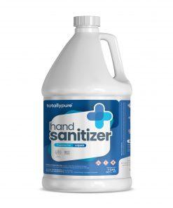 Totally Pure 1 Gallon Hand Sanitizer, Liquid Refill 80% Alcohol [Non-Gel]
