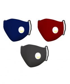My Mask Breathable Cotton Comfort Plus Filter Layer Reusable Face Covering Mask – Navy