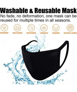 Soft Cotton Face Covering Mask Unisex Washable Reusable – Made In USA
