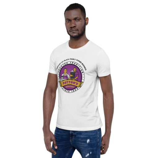 """Patton Grocery """"I Support My Black Owned Family Business"""" Short-Sleeve Unisex T-Shirt"""