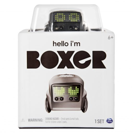 Boxer Interactive A.I. Robot Toy (Black) with Personality and Emotions, for Ages 6 and Up
