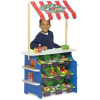 Melissa Doug Wooden Grocery Store and Lemonade Stand Playset- Reversible Awnin