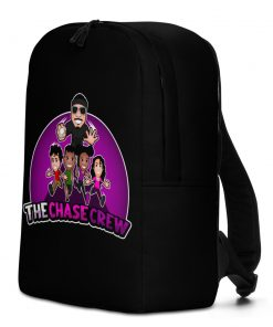 The Chase Crew Black Backpack